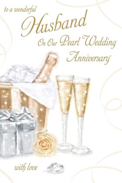 30th wedding anniversary verses for cards