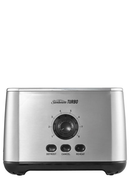 NEW Sunbeam TA7720 Turbo 2 Slice Toaster: Stainless