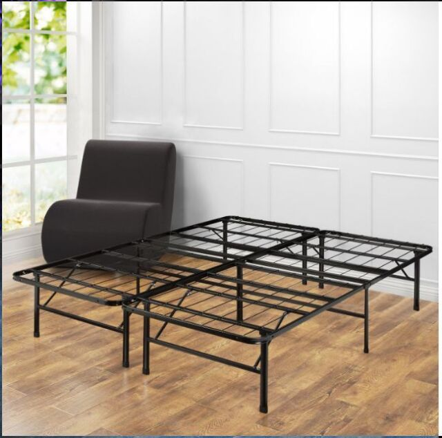 Zinus Modern Studio Platform 2000 Metal Bed Frame Mattress