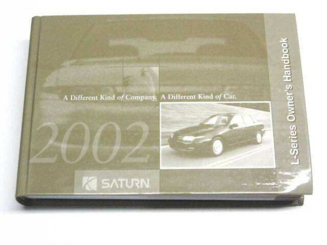 2002 saturn l series vehicle owners manual book handbook mk3691 ebay rh ebay com 2002 Saturn Sedan 2002 saturn s series owners manual