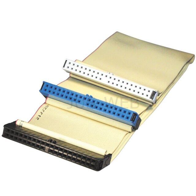 IDE-Kabel, Ultra-ATA 100, 80-pol. flach 0,6m Flachkabel 60 cm