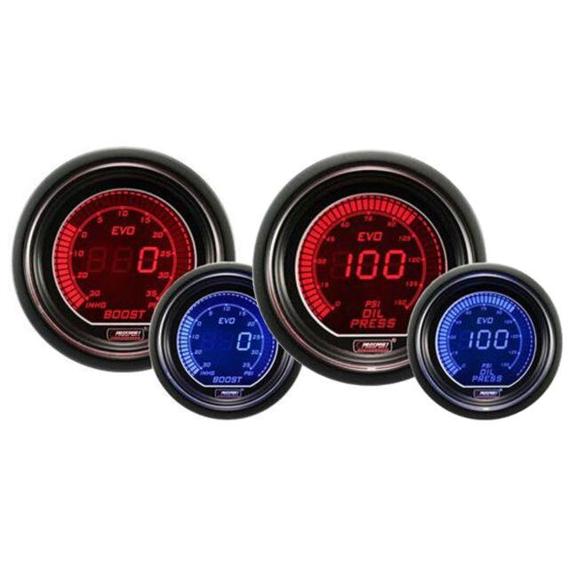 Prosport Evo Series 52mm Digital Oil Pressure Gauge Prosport