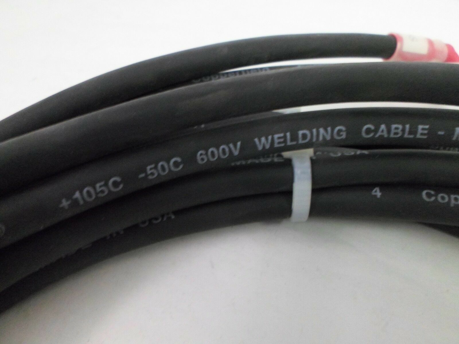 Copperfield Excelence 105c - 50c 600v Welding Cable 10\' | eBay