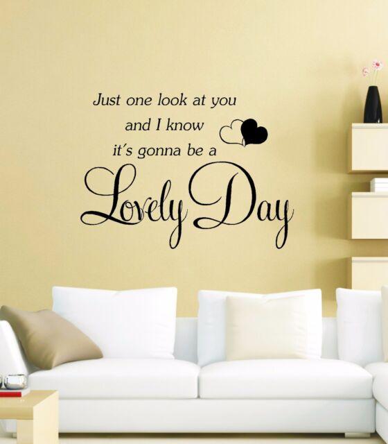 Lovely Day Bill Withers Music Song Lyric Lyrics Wall Art Secret Life ...
