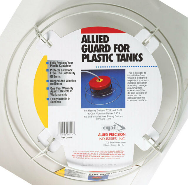 Allied Precision 88r Galvanized Wire Snap on Guard Floater 2-in1 De ...