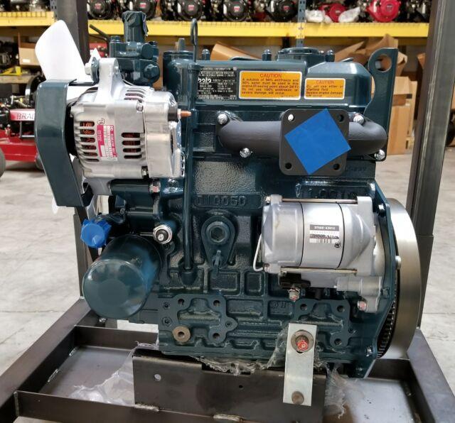 Kubota 23.5hp @ 3000rpm 3 Cylinder D1005 Diesel Engine