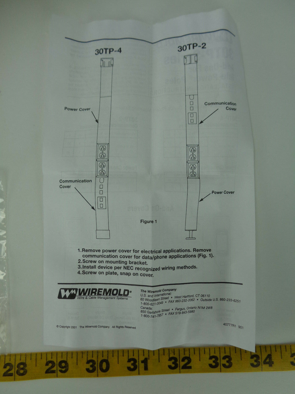Exelent Wiremold Installation Embellishment - Electrical and Wiring ...