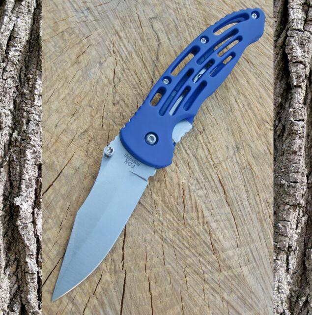 Einhandmesser - Taschenmesser - Klappmesser - Messer - Blau - Gürtelclip - 45761