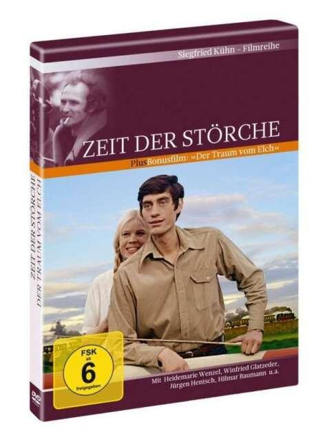 Zeit der Störche - Winfried Glatzeder - Bonusfilm: Der Traum vom Elch - DVD