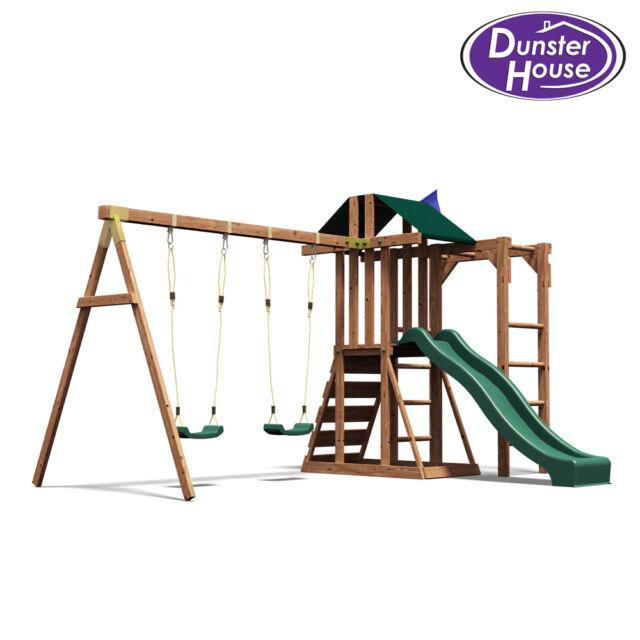 Childrens Climbing Frame Swing Sets Slide Monkey Bars Play House Garden  Kids UK