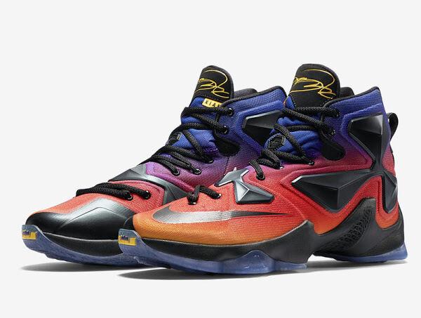 Nike LeBron 13 Orange/Black LeBron XIII SaleShoes_a0785