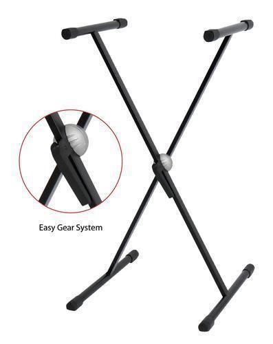BSX / GEWA Stands - Keyboardständer Easy Gear System - Farbe: schwarz *NEU*