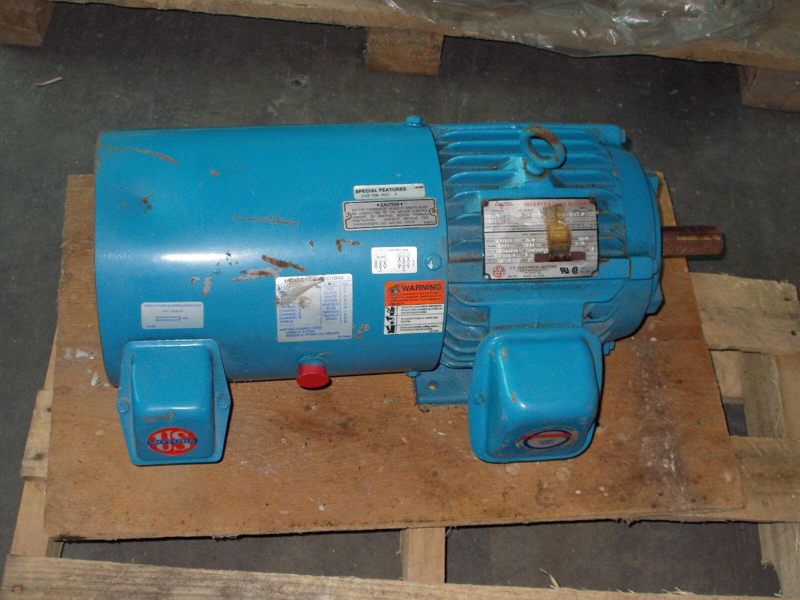 U.s. Motors 639174 FR 184t 5 HP VARIDYNE Inverter Duty Motor | eBay