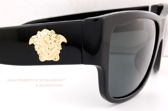 53b4807d0beb Versace Medusa Sunglasses Ve 4275 Gb1 87 Black gray for Men Women