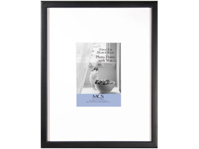 MCS 11x14 East Village Collage Frame With One 5x7 Opening - Black | eBay