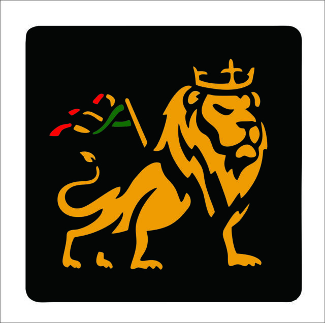 Car decal rasta reggae jah macbook lion of judah one love rastafarai r14