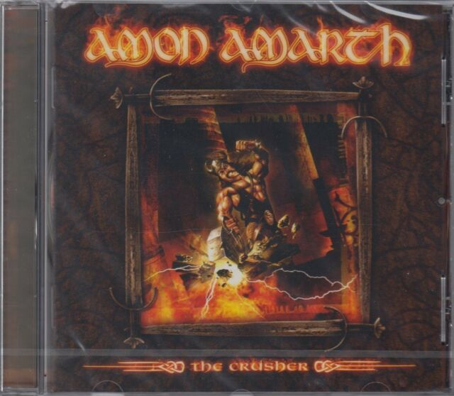 AMON AMARTH - The Crusher (CD) Melodic Death Metal