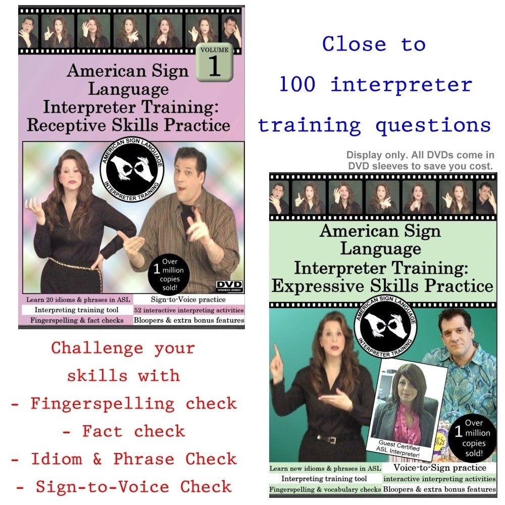 American sign language interpreter training receptive expressive picture 1 of 1 xflitez Image collections