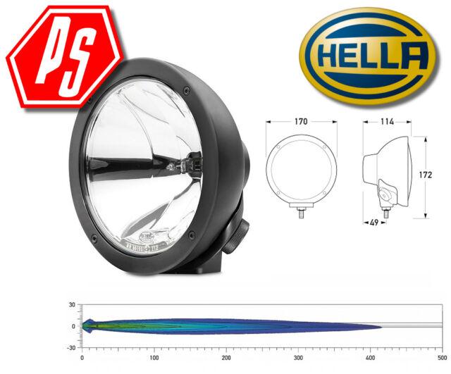 HELLA RALLYE FF 4000 Series Compact Spread Beam 100W Driving Lamp - 12V - 1378
