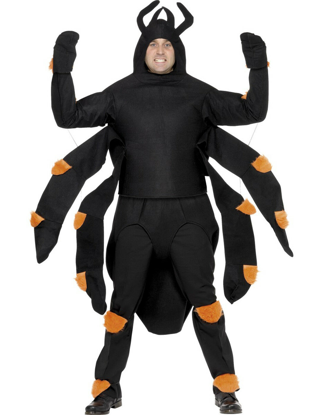 item 2 Scary Creepy Giant Black Spider Costume Insect Unisex Halloween Costumes Adult -Scary Creepy Giant Black Spider Costume Insect Unisex Halloween ...  sc 1 st  eBay & Scary Creepy Giant Black Spider Costume Insect Unisex Halloween ...