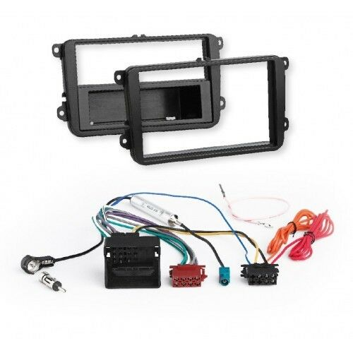 RTA 600.010010 All In One Paket for VW,Skoda,Seat VEHICLES RADIO FACEPLATE + ISO