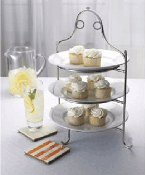 3 Tier Stainless Steel Serving Plate Stand Frame High Tea Desserts Pizza Stand S | eBay & 3 Tier Stainless Steel Serving Plate Stand Frame High Tea Desserts ...