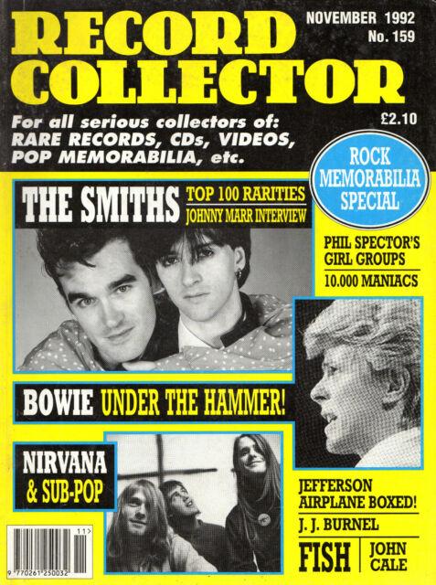 DAVID BOWIECOLLECTABLES-AUCTION RARITIES-RECORD COLLECTOR No.159 (NOVEMBER 1992)