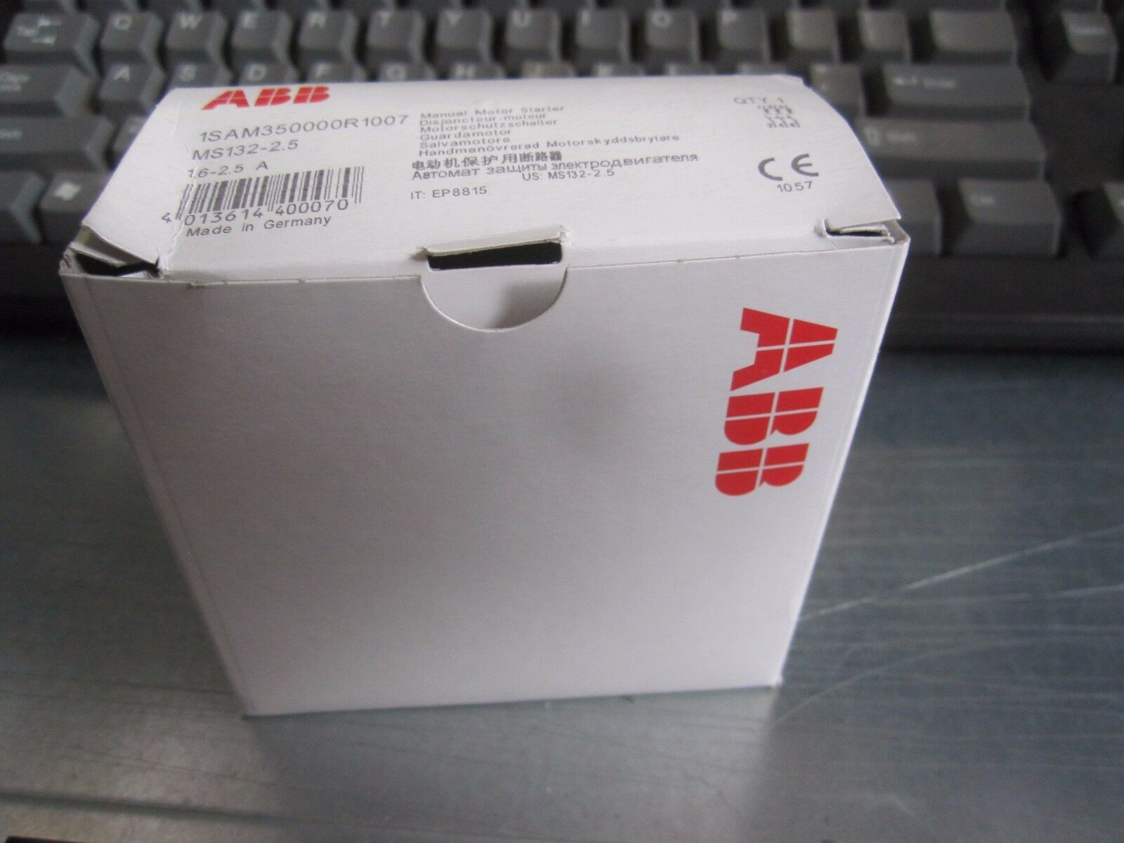ABB Ms132-2.5 - 1SAM350000R1007 Motor Starter Manual | eBay