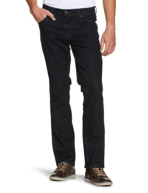 Mens Texas Stretch Regular Fit Jeans, Blue (Dark Blue), 40W x 36L Wrangler