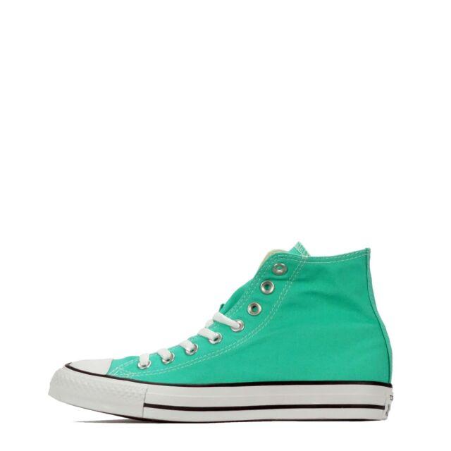 Converse Scarpe unisex chuck taylor all star sneakers hi MENTA verde