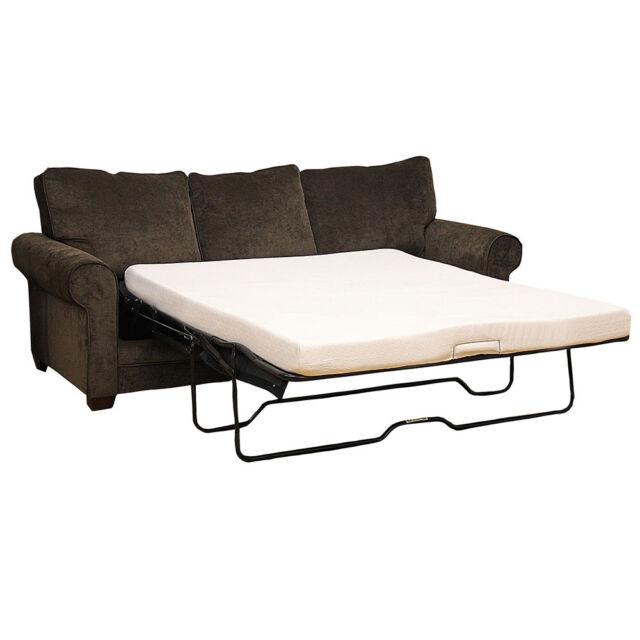 classic brands memory foam 4 5 inch sofa bed mattress twin ebay. Black Bedroom Furniture Sets. Home Design Ideas