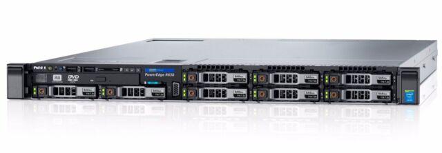 Dell PowerEdge R630 1x XEON SIX CORE E5-2603v3 1.6GHz 8GB 600GB 1U Rack Server