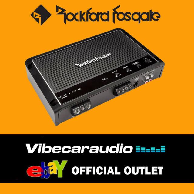 Rockford Fosgate Prime R1200-1D - 1200 Watt Class-D Full-Range Mono Amplifier