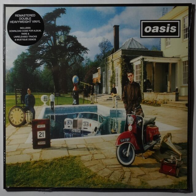 Oasis - Be Here Now  2LP/Download remastered 180g NEU/SEALED gatefold sleeve