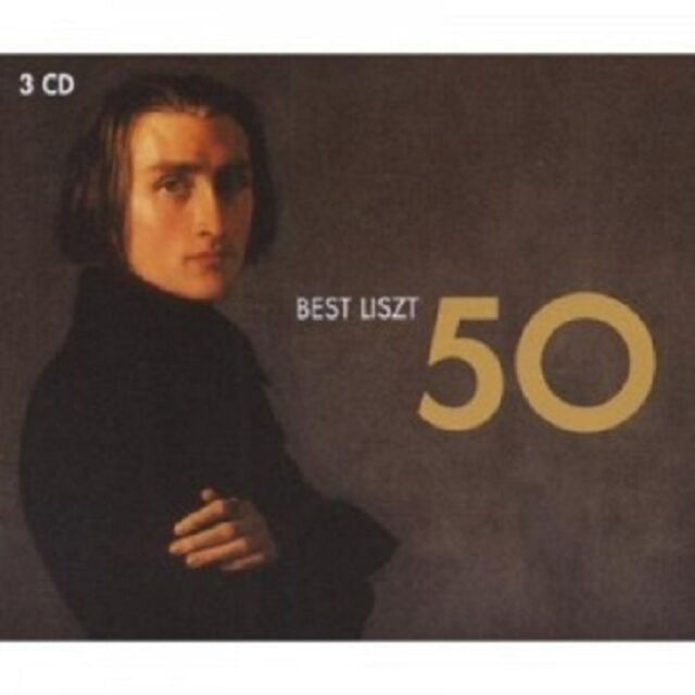 50 BEST LISZT 3 CD NEUWARE KLAVIER 50 TRACKS