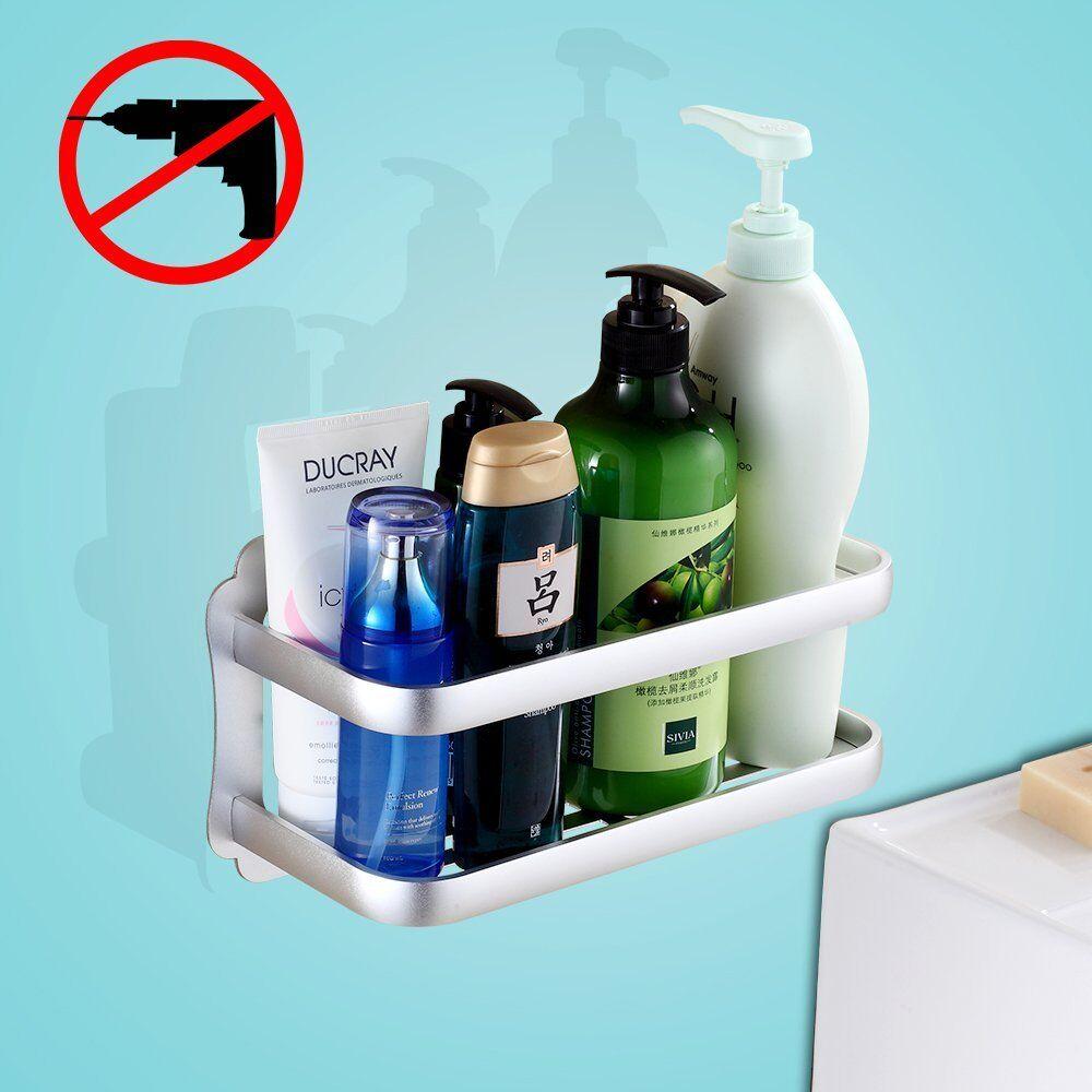 Gricol Bathroom Shelf Shower Caddy Storage Organizer No Damage ...