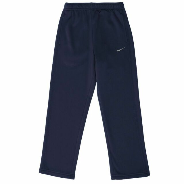 Nike KO 2.0 Therma-FIT Fleece PANT Sweatpants – Little Boys NAVY BLUE Sz 4