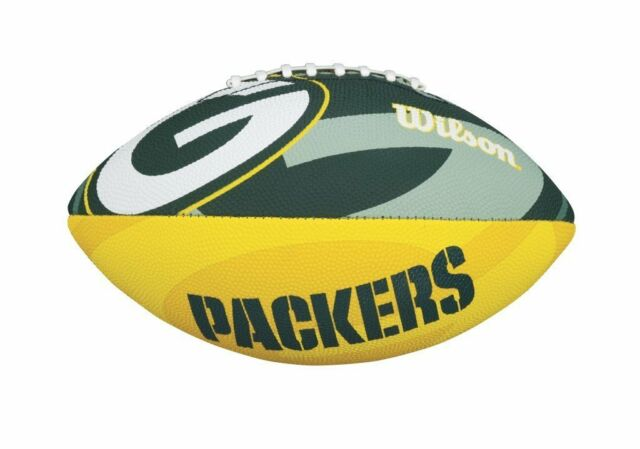 NFL Football GREEN BAY PACKERS Junior Size Team Logo von Wilson - neu
