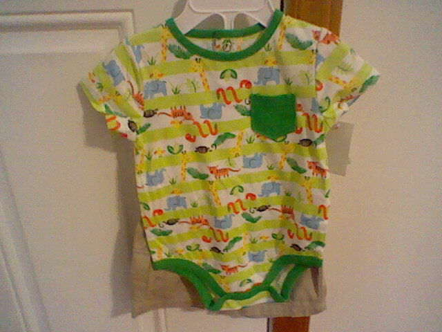 infant boys size 3 6 months small wonders 2 piece outfit ebay