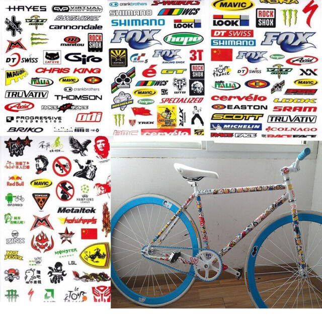 3 Sheet Car Bmx Mtb Road Bike Cycling Bicycle Scrapbook