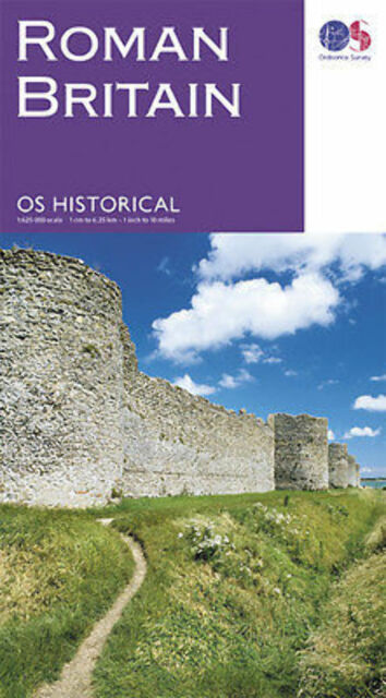 Roman Britain Ordnance Survey map monuments sites