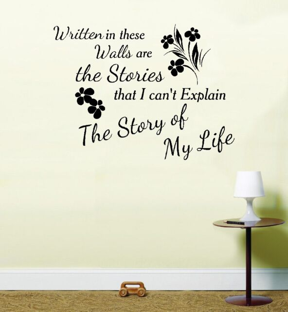 One Direction 1 D Story of My Life Song Music Vinyl Sticker Wall Art ...