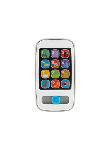 Fisher-Price BHB90 - Lern Spaß Smart Phone für Kinder Sound & Licht