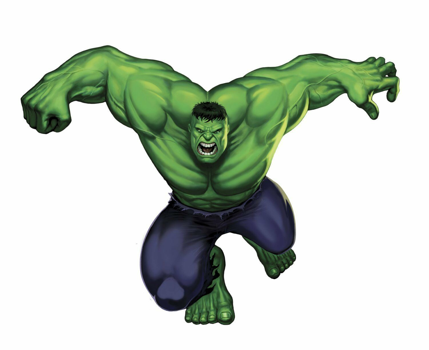 Marvel superheroes comic avengers the incredible hulk giant wall picture 1 of 3 amipublicfo Gallery