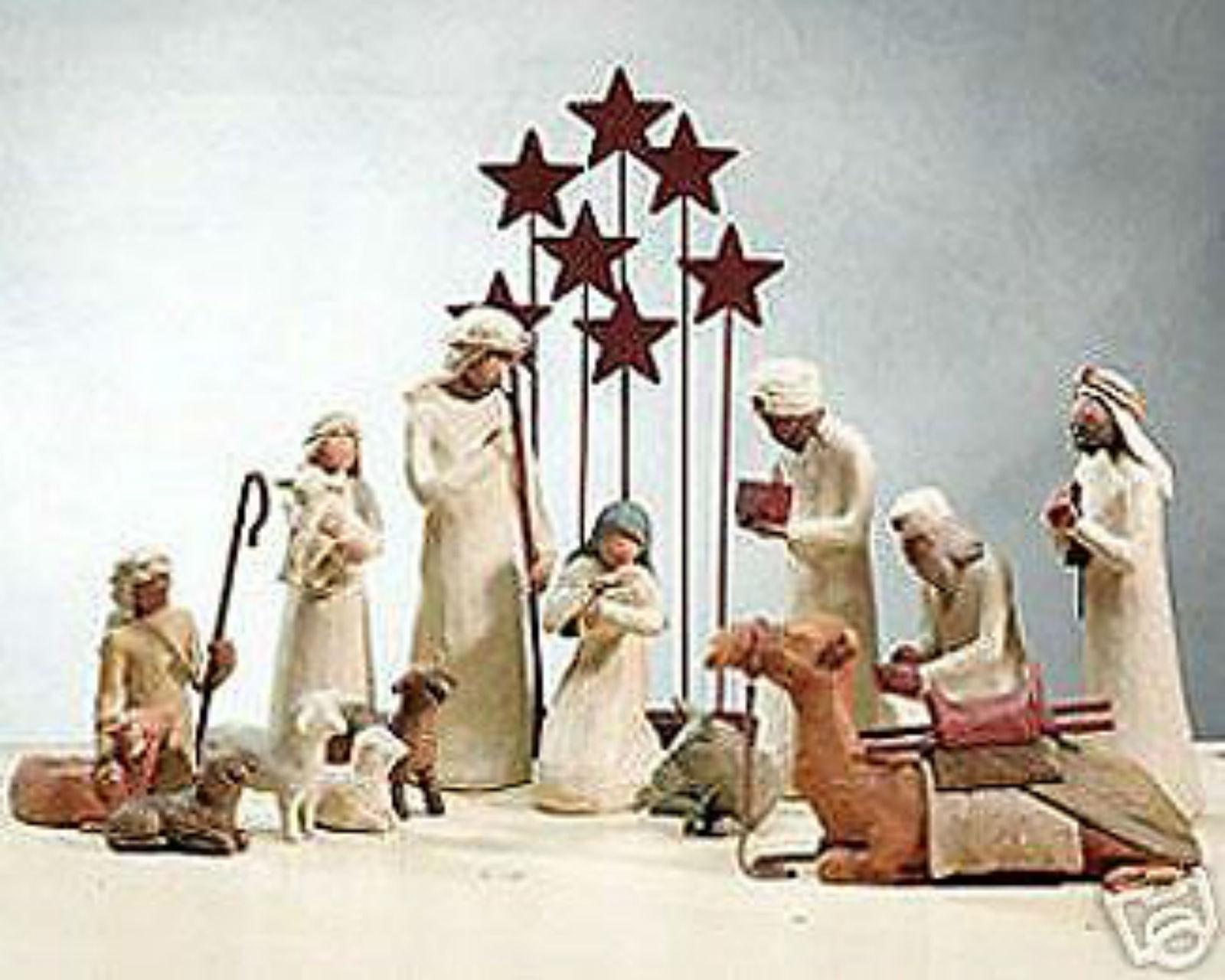 Demdaco Willow Tree Nativity 14 Piece Set | eBay