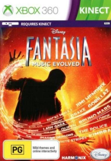 Xbox360 Disney Fantasia Music Evolved - NEW (SEALED)