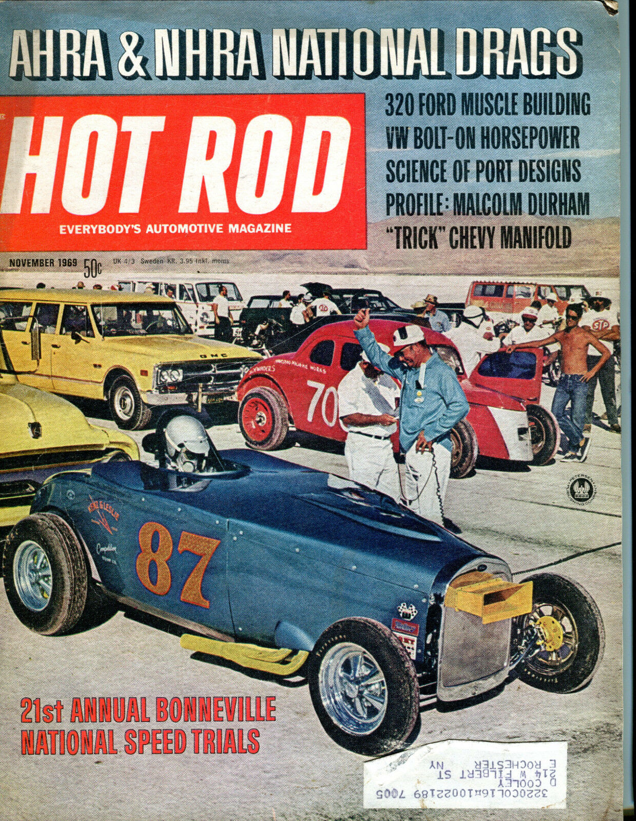 Hot Rod - November, 1969 Back Issue | eBay