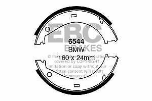 6544 EBC Rear Brake Shoes for BMW 316   318 320 323 325 328 Z1 Z3 Z4