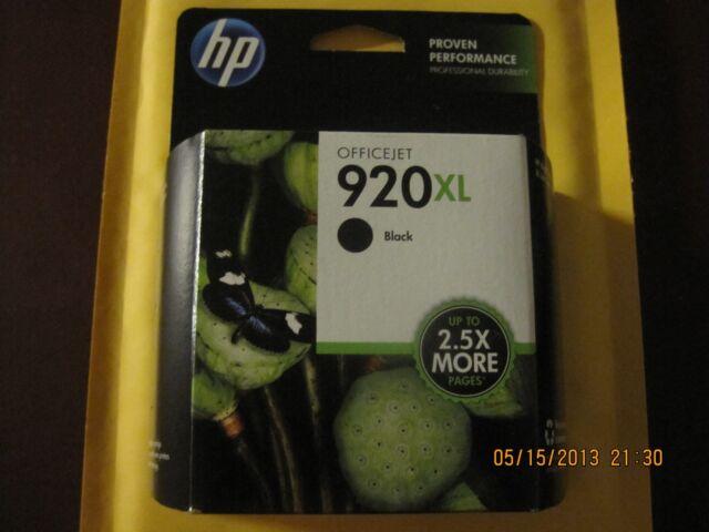 **BRAND NEW HP 920XL BLACK INK CARTRIDGE MODEL (CD975AN) FAST SHIP