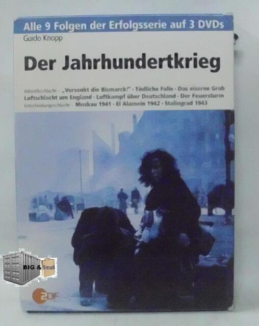 Der Jahrhundertkrieg - alle 9 Folgen 3 DVD's - von Guido Knopp -